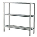 "New Age Industrial 1041 H.D. Series Shelving Unit, 3-Tier, 36""W X 20""D X 60""H"