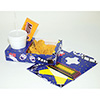 """Combination Serving Trays - 3 Compartments, Light Cardboard, 9-3/4""""Wx6-1/4""""Dx2-1/4""""H"""