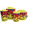 Popcorn Serving - Tubs for Buttered Popcorn