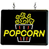 Benchmark USA 92001 - Ultra Bright Sign- Popcorn