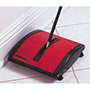 Carpet and Floor Sweeper, Red Finish