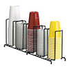 Wire Cup and Lid Dispenser Up to 44 oz., 5 Sections