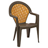 Amazona Outdoor Arm Chair - Resin Stack Chair