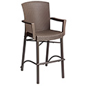 Stackable Grosfillex Havana Barstool