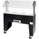 "Electric Hot Buffet Table, 4 Wells, 62-7/16""W"