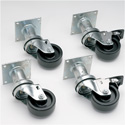 "6"" Swivel Casters for Pitco Fryers 440-005, 440-007, 440-008 and 440-018"