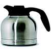 Stainless Steel Brew-In Carafe - Low Height, 1.9 Liter Capacity