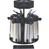 Service Ideas RRA6V2C - Roto Airpot Rack, Fits (6) Airpots, W/Pole And Cond. Tray