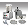 Commercial Food Processor - 4 Qt. Stainless Steel Bowl, Single Speed