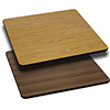 "Value Series Reversible Laminate Table Top, 24""Wx30""D"