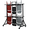 Flash Furniture NG-FC-DOLLY-GG Folding Chair Storage Truck