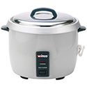 Rice Cooker - 60 Cup, Silver Painted Body