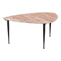 Zuo Modern 100426 Barber Coffee Table, Distressed Natural