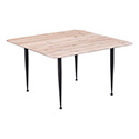 Zuo Modern 100427 More Coffee Table, Distressed Natural