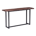 Zuo Modern 100437 Papillion Console Table, Distressed Cherry Oak