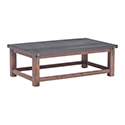 Zuo Modern 100502 Greenpoint Coffee Table, Gray and Distressed Fir