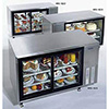 Refrigerated Display Case - Pass-Through with Door on Both Sides