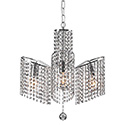 Zuo Modern 50222 Keith Ceiling Lamp, Chrome