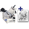 Globe 3850N Electric Food Slicer - Heavy Duty Stainless Steel, Two Speed Automatic