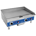 "Electric Countertop Griddle, 24""W"