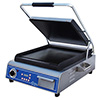 "Panini Grill - Cast Iron 14""Wx14""D Smooth Cooking Surface"