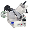 Electric Food Slicer - Heavy Duty Stainless Steel, Two Speed Automatic