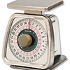 Rotating Kitchen Dial Scale 25 lbs. x 2 oz. Capacity