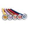Taylor 6092N Set of 5 Color Coded Thermometers