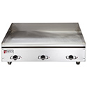 "Commercial Griddle - Electric, 36""Wx24""D, 3 Controls"
