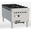 "Restaurant Series Gas Hot Plate - 12""W, 2 Burners"