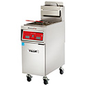 "PowerFry High Efficiency Gas Fryer, 65-70 lb. Oil Capacity, 80,000 BTU, 21""W"