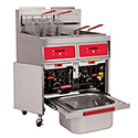 Commercial Gas Fryer - 70 lb. Oil Capacity