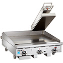 "Commercial Clamshell Griddle Top, Electric - 12""W"