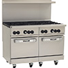 "New Endurance Gas Range - 48""W, 8 Burners, 2 Standard Ovens"