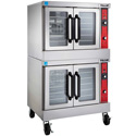 Vulcan VC44ED Electric Convection Oven - Double Stack, Standard Depth, FREE KIT