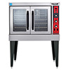 Vulcan VC4ED Electric Convection Oven - Single Stack, Standard Depth, FREE KIT