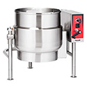 Floor Mounted Tilting Kettle, 40 Gallon Electric