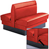 Pennypincher Deluxe Upholstered Booth - Double Seat