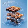 Acrylic Bakery Display Case - Euro Style Three Trays