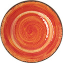 "Carlisle 5400252 MINGLE 9"" SALAD PLATE-FIREBALL, DZ of 1/DZ"
