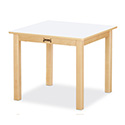 "Jonti-Craft 56214JC Multi-Purpose Square Table - 14"" High - White"