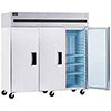 Reach In Freezer - Solid Door Three Doors, 66.5 Cu. Ft.