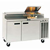 "Pizza Prep Table - Deluxe 60""W, 14.3 Cu. Ft."