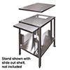"Stand for Electric Countertop Steamers 34-1/4"" High"