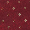 Carlisle 57191554L023 Expressions Series Aster Tablecloth 15 YD Roll - Maroon