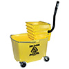 Central Exclusive 6G 35 Qt. Mop Bucket with Side-Press Wringer