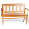"Bulldog Wood Bench 60""W"