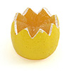 "Artificial Lemon Crown, 3-1/2""Diam.x3-1/2""H."