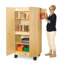 Jonti-Craft 5946JC Hideaway Storage Cabinet Mobile
