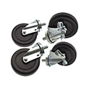Swivel Casters for Garland Restaurant Series Commercial Gas Range - Set of Four